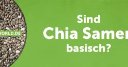 Sind Chia Samen basisch?