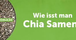 Wie isst man Chia Samen?