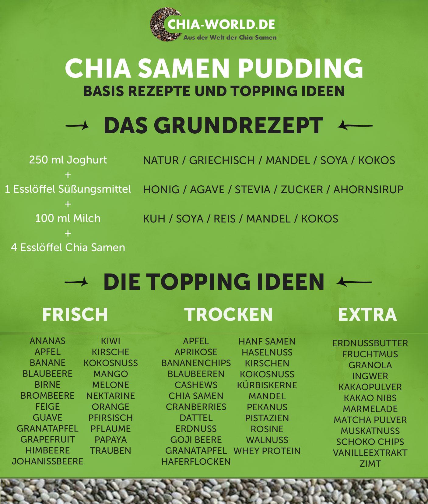Chia Pudding Ideen