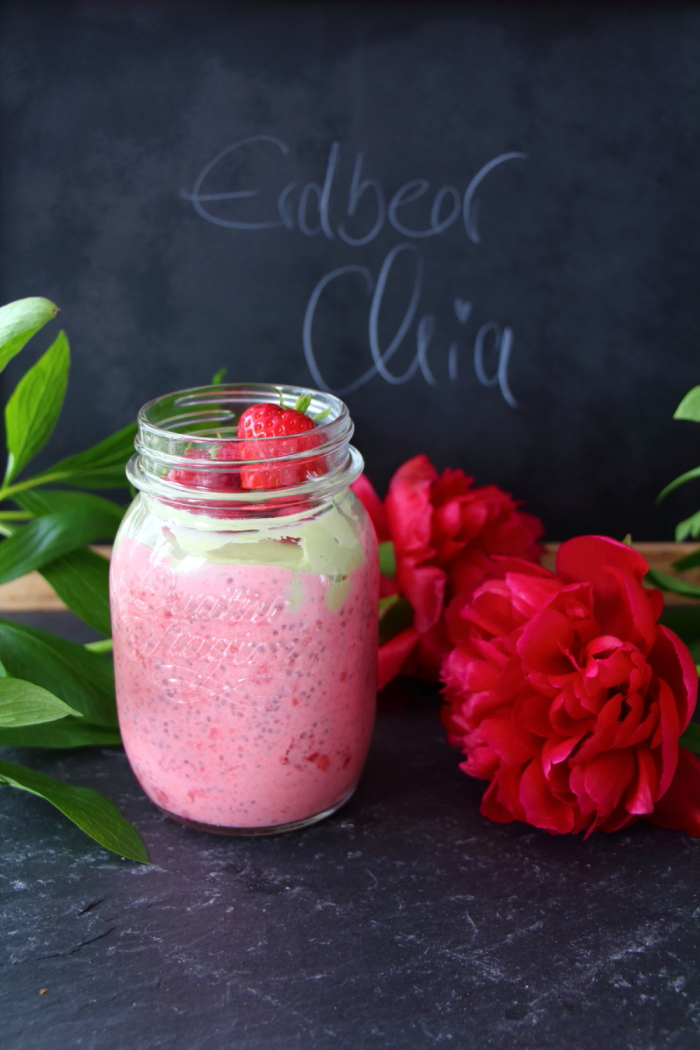 Erdbeer Chia Samen Joghurt von laurasapfelbaum.de