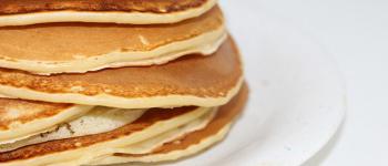 Chia Frühstück mit Chia Pfannkuchen